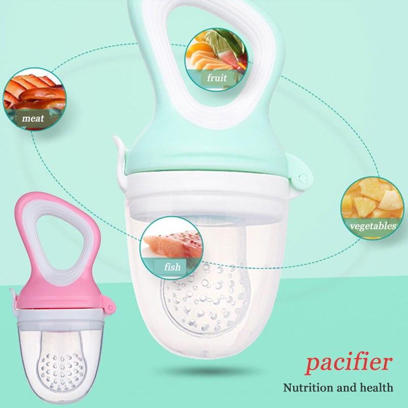 Соска для Соска Силиконовая унисекс молоко еда овощи безопасная посуда для кормления младенцев Детские принадлежности