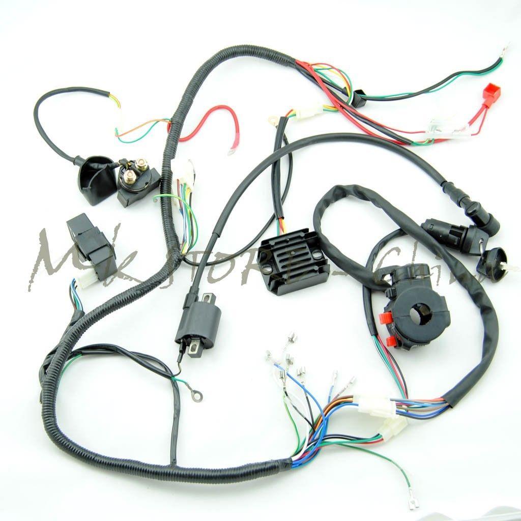 250cc Quad Bike Wiring Diagram Network Design Crf70 Electrical Diagrams