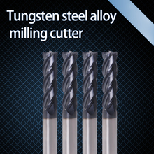 Augusttools Cnc Endmill Cutting HRC50 4 Flute 4mm 5mm 6mm 8mm 10mm 12mm Alloy Carbide Milling Cutter End Mill Freze ucu Tools цена в Москве и Питере