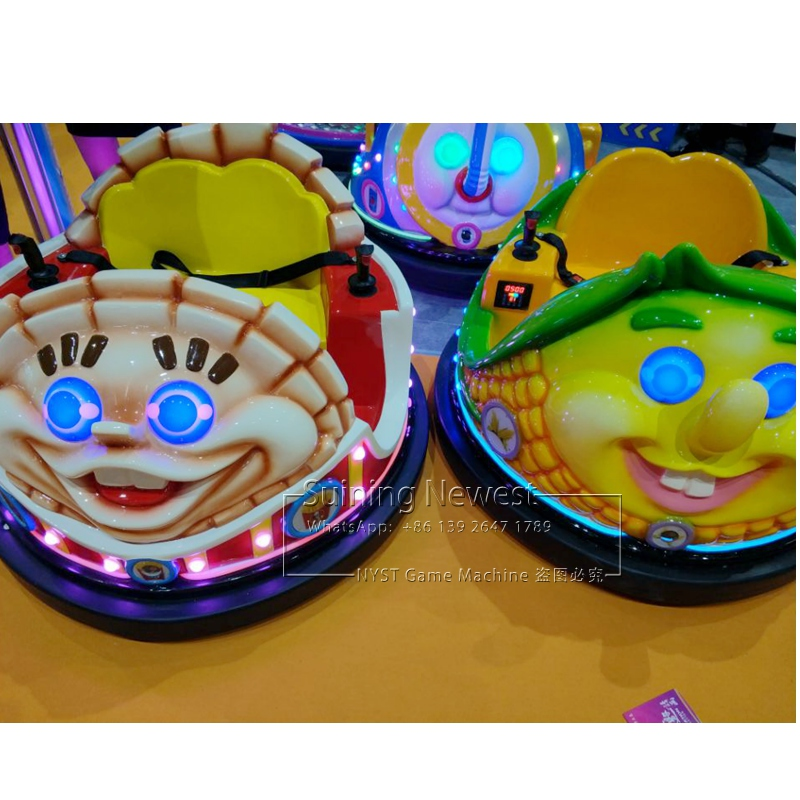 2019 New Design GTI Cheap Price NYST Amusement Park Equipment Outdoor Laser Shooting Games Battery Collision Bumper Cars