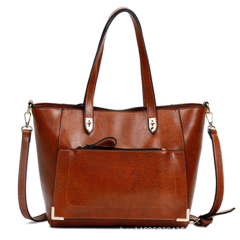 Women Bags Shoulder Tote Bags bolsos Women Large Capacity Cross Body Bags Retro Female Famous Designers Leather Handbags 2018