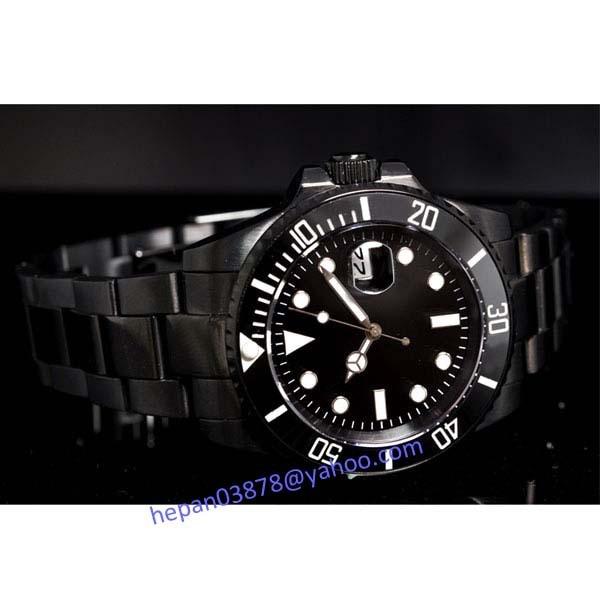 Parnis watch 40mm black dial Ceramic Bezel PVD case sapphire Luminous Automatic Self-Wind movement Men's watch 67 все цены