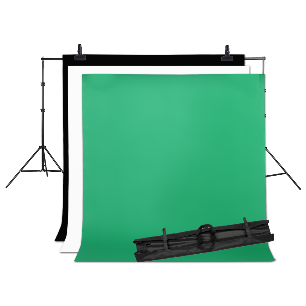 2MX2M Backdrops Frame Background Support System Photography Studio Background Holder Camera & Photo Accessories + Carry Bag 3 5m vinyl custom photography backdrops prop nature theme studio background j 066