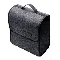 Folding Car Styling Seat Back Tool Bag Car Trunk Storage Bags Holder Box Auto Rear Storage