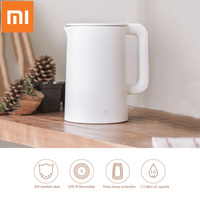 Original Xiaomi Mijia 1.5L Water Kettle Electric Handheld Auto Power off Protection Instant Heating Electric Wired Kettle