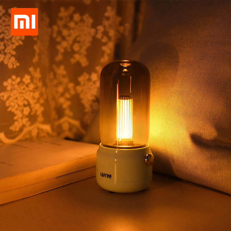 Xiaomi Youpin Lofree CANDLY Retro Light adjustable bright USB Charging Wired Two Light Modes Warm As