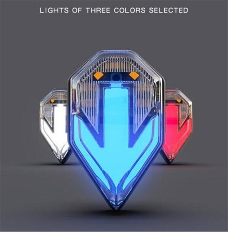 SPIRIT BEAST Motorcycle Turn Signal Super Bright Waterproof LED Steering Light Moto Lights Decorative
