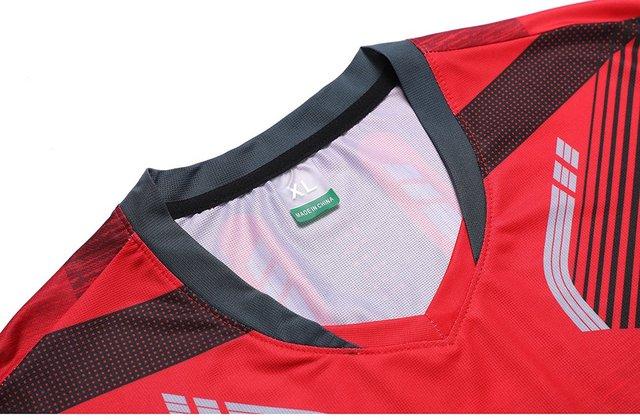 2018 Badminton shirts Men / Women, sports Gym clothing Tennis shirts , table tennis shirt , running tshirt 1025 4