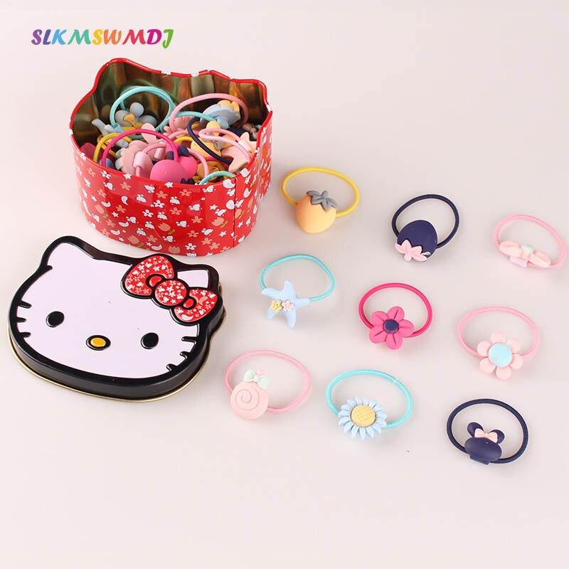 WHTLY Nowe słodkie dziecięce gumowe akcesoria do włosów Baby Sun - Odzież dla niemowląt - Zdjęcie 1