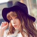 Retro British Hat Wool Hat large Brimmed Fedora Cloche Floppy Flannel Felt Women's Winter Hats Jazz Caps For Women