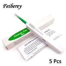 5 шт., ручка для очистки оптоволокна с разъемом 2,5 мм SC/FC/ST