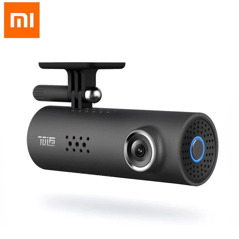 Original Xiaomi 70 minutos en coche DVR cámara grabadora de vídeo inteligente WIFI de 130 grados con SONY IMX323 de Sensor de imagen de Control de voz