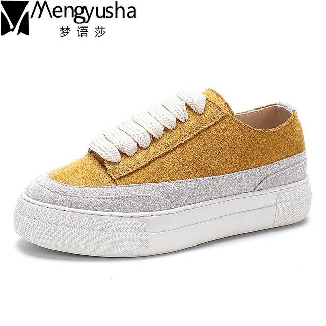 99 Leather 2018 Women Derbies Shoes Footwear Casual New 40OFFBuy Platform For Women Female Flat Shoes Shoes Genuine Fashion US33 trdxshQC