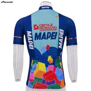 Image 5 - Лидер продаж, новые классические профессиональные футболки для велоспорта в стиле ретро
