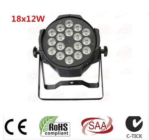 6pcs/lot, LED par 18x12W RGBW 4in1 Quad LED Par Can Par64 led spotlight dj projector wash lighting stage light light 4pcs lot led par 18x15w rgbwa 5in1 quad led par can par64 led spotlight dj projector wash lighting stage light