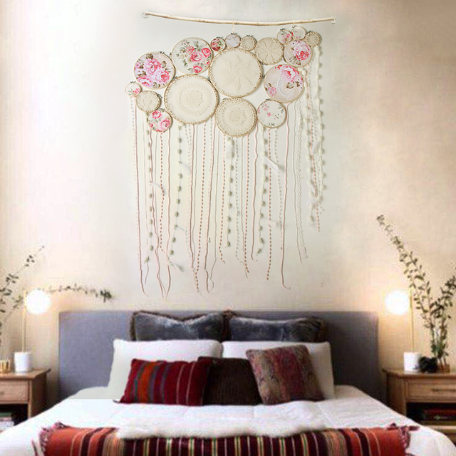 Superieur Indian Handmade Macrame Hanging Wedding Decoration/ Bohemian Handwork  Tapestry Living Room Bedroom Wall Decoration Dreamcatcher
