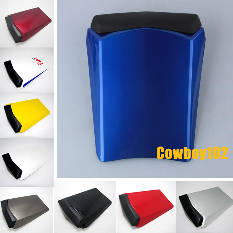 For Yamaha YZF-R1 YZF R1 2002 2003 02 03 Motorcycle Rear Passenger Seat Cowl Fairing Protector Seat Cover Red Blue White Black for ktm 390 duke motorcycle leather pillon passenger rear seat black color