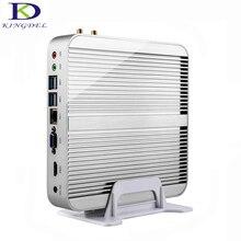 Best цена Безвентиляторный Компьютер Intel i5 4200Ui7 5550U Dual Core HDMI 3D Игры Поддержка HTPC Мини-ПК NC240