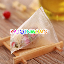 New Environmental Natural Corn Fiber Heat Sealing Tea Bag PLA Biodegraded Tea Filter Empty Bags Safe and Non-toxic 1000pcs/lot