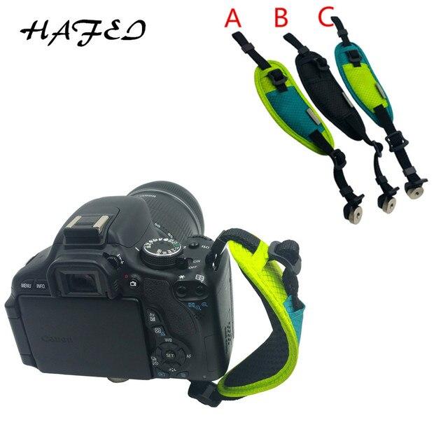 DSLRกล้องสายคล้องมือกล้องจับมือสายรัดข้อมือสำหรับNikon D7100 D5500 D5300 D3300 D610สำหรับCanon 550D 1100D Sony