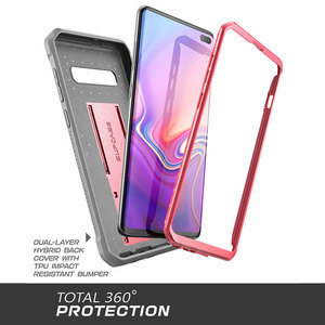 Image 5 - SUPCASE UB Pro For Samsung Galaxy S10 Case 6.1 inch Full Body Rugged Holster Kickstand Case WITHOUT Built in Screen Protector