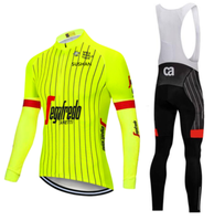 TReking Pro Long Sleeve Spring Cycling Jerseys Set Bike Clothing Uniform Racing Bicycle Clothes Wear Maillot Ropa Ciclismo green