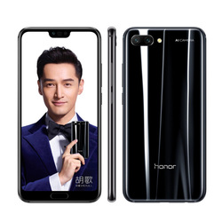 Перейти на Алиэкспресс и купить original honor 10 mobile phone 5.84дюйм. 6gb ram 64gb rom kirin 970 2280x1080px 3400mah 24mp ai camera android nfc smart phone
