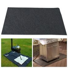 Outdoor Camping Mats Gas Grill Barbecue BBQ Floor Mat Anti-oil Polyester Mat For Camping Cooking