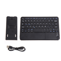 7 Inch Untra Thin Bluetooth Multi Function Touch Pad Keyboard With Built In Multi Touch Touchpad