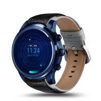 Reloj inteligente LEM5 GPS impermeable MTK6580 3G tarjeta SIM reloj inteligente hombre Bluetooth para IOS 5,1 reloj inteligente Android
