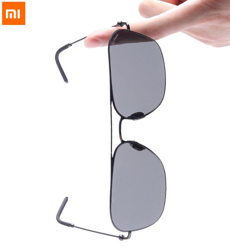 2018 nouveau Original Xiaomi Mijia personnalisation TS Nylon lunettes de soleil polarisées une-pièce design rétro style