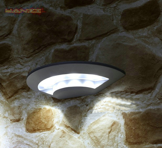 Outdoor Waterproof Cool White LED Wall Lamp Aisle Balcony Simple Garden Wall Light Outdoor Wall Sconce