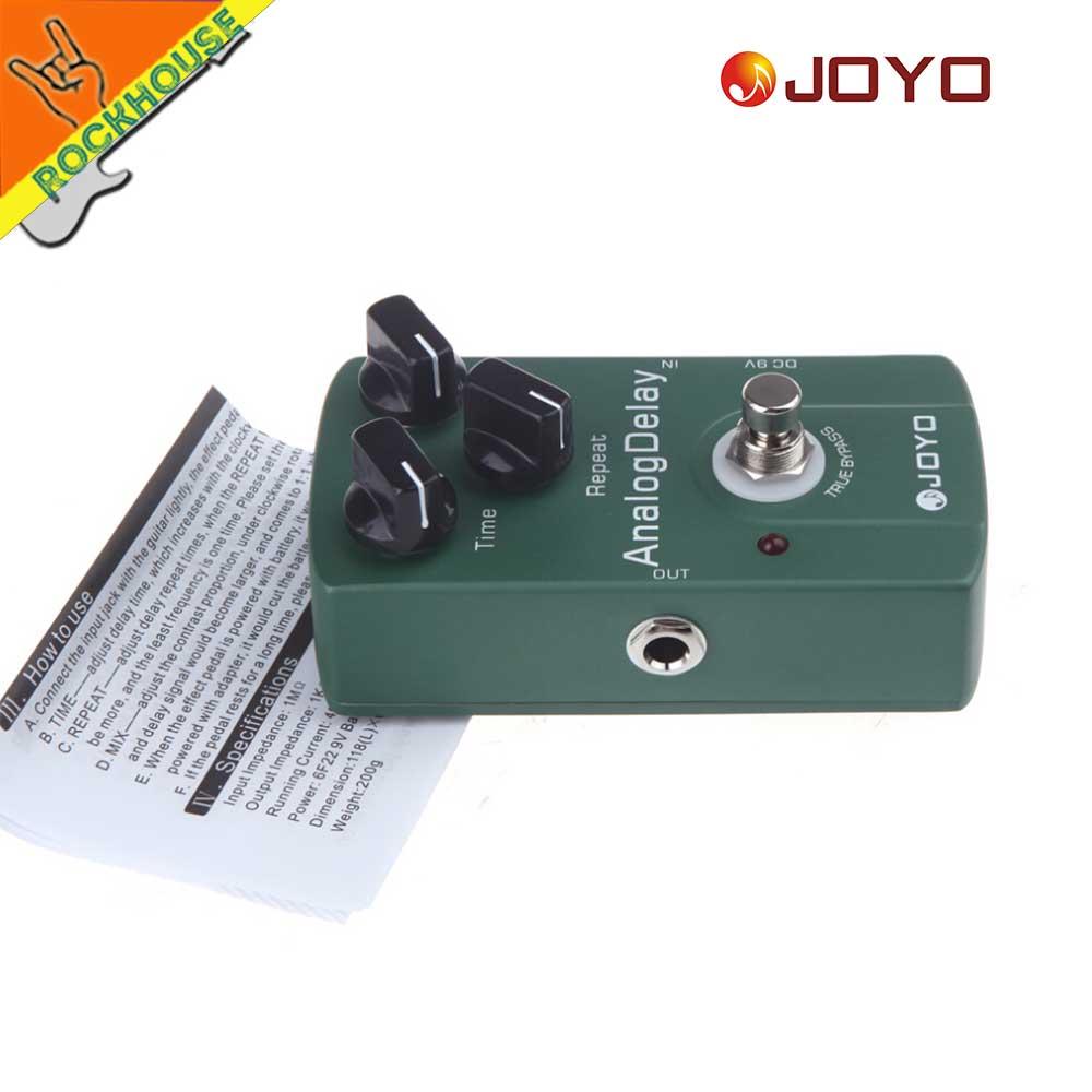 JOYO Analoge vertraging Gitaareffecten Pedaal Gitaar Echo - Muziekinstrumenten - Foto 6