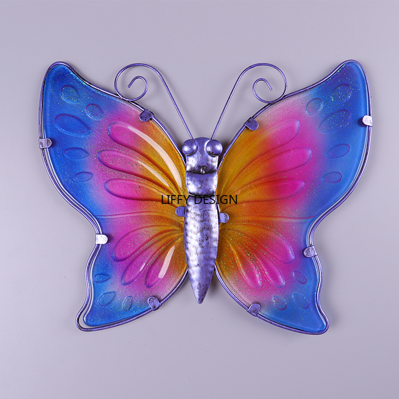 Image 3 - Liffy Metal Butterfly Wall Decor Statues for Decoration for Home Decoration Accessories Sculpture Statues Sculpture Modern Art.-in Statues & Sculptures from Home & Garden