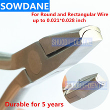 Dental Orthodontic Arch Forming Plier Stainless Steel For Round and Rectangular Wire up to 0.021*0.028 inch  все цены