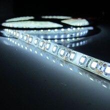 12 V 5 M 300/600 Led 3528 SMD étanche Led Fiexble bande lumière Led ruban bande décor voiture lampe blanc chaud blanc bleu rouge vert(China (Mainland))