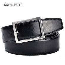 Men's Genuine Leather Belt Men Brown and