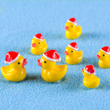 Duck microlandscape Decorating kids birthday party gifts little yellow Lovely  DIY bonsai