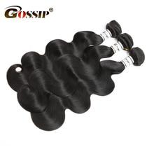 Gossip Hair Brazilian Body Wave Human Hair Bundles Deal Body Wave Brazilian Hair Weave 3