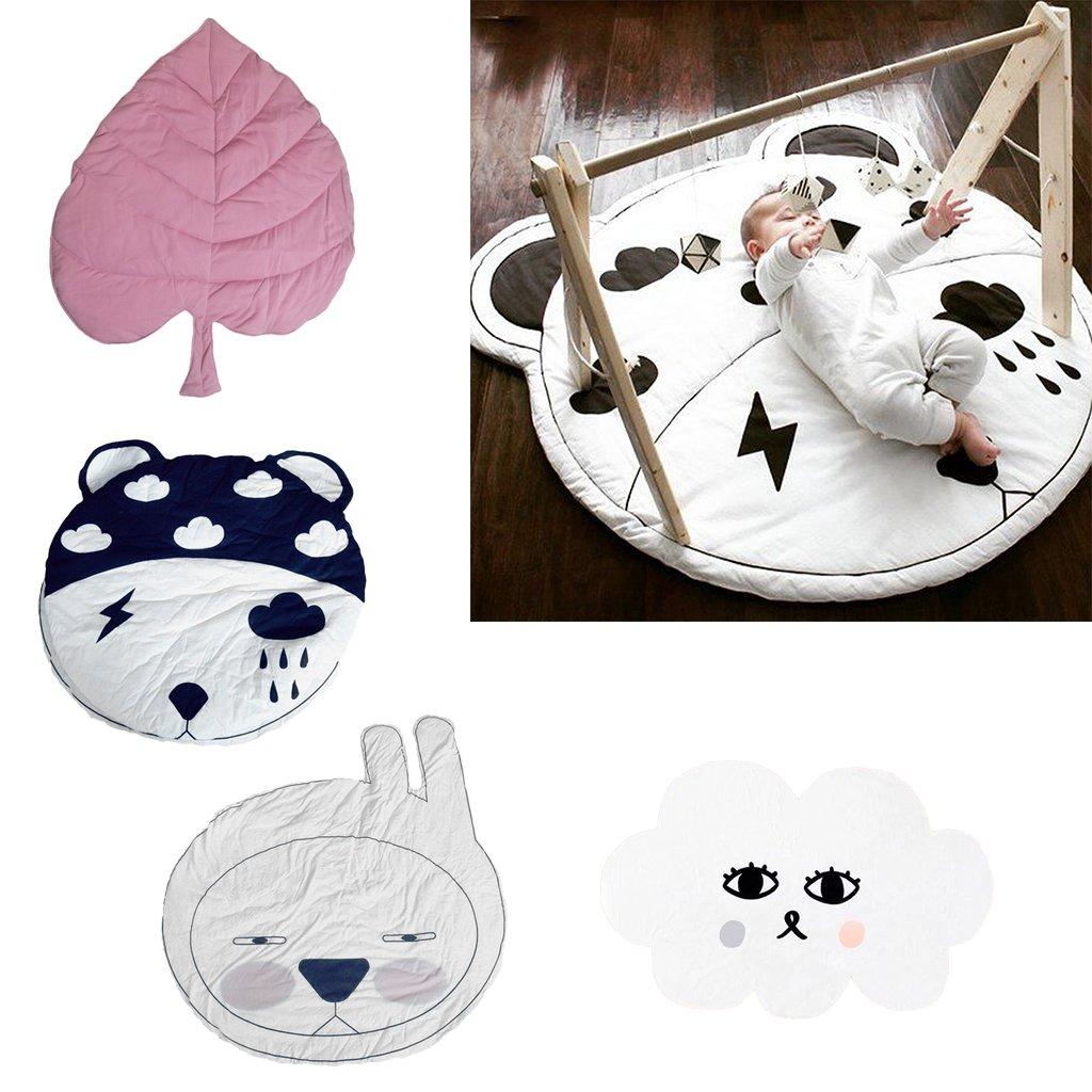 Dessin animé bébé tapis de jeu coussin doux ramper tapis salon tapis de sol tapis jeu jouet Pad tapis de jeu pour bébé enfants enfants