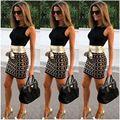 Pencil dress petticoat woman summer dress 2017 sexy fashion gluteus maximus office dress sleeveless mosaic clothes for woman 640