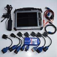 truck scan tool nexiq 125032 usb link with laptop xplore ix104 c5 i7 tablet diagnosis cbles full set 2 years warranty