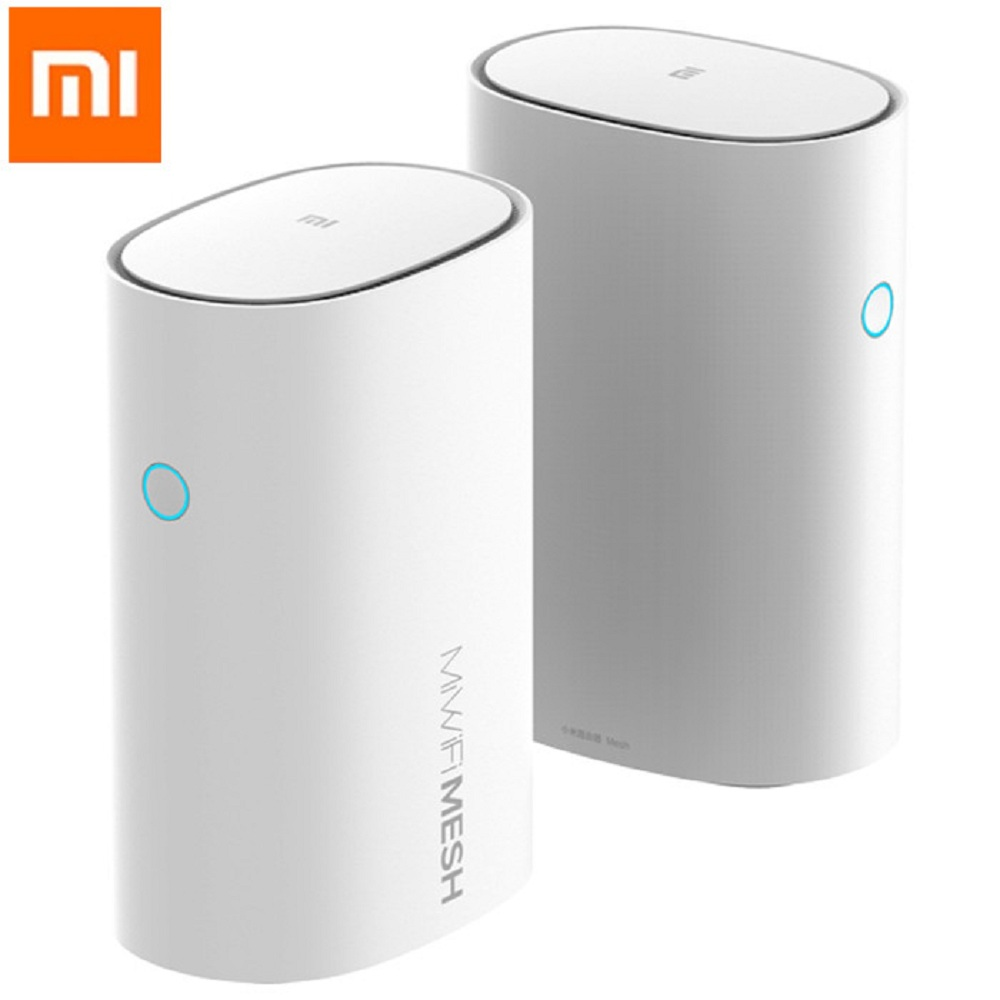 Xiaomi maille 2.4 + 5 GHz WiFi routeur intelligent AC1300 + 1000 M LAN + 1300 M ligne électrique Qualcomm DAKOTA 4 Core 4 amplificateurs de Signal