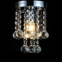 Hot Sale New Modern Ceiling Light Lustres De Sala E14 Lights Bulbs Lighting Crystal Rain Drop