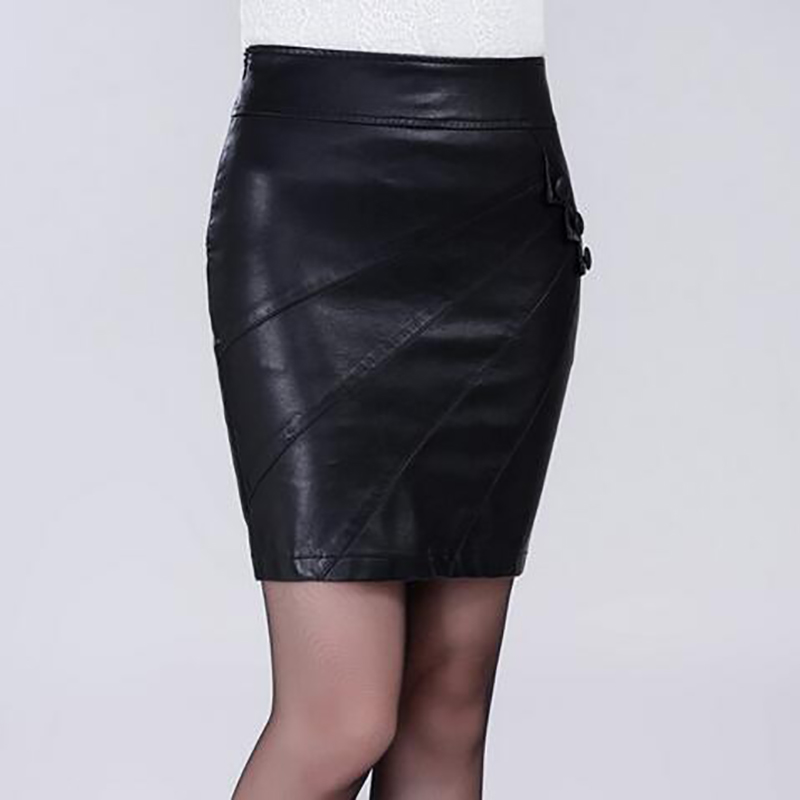 Compare Prices on Black Leather Skirt Plus Size- Online Shopping ...