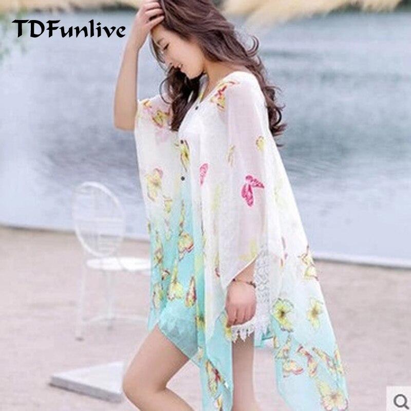 TDFunlive նոր ամառային շիֆոնով տպված - Սպորտային հագուստ և աքսեսուարներ - Լուսանկար 2