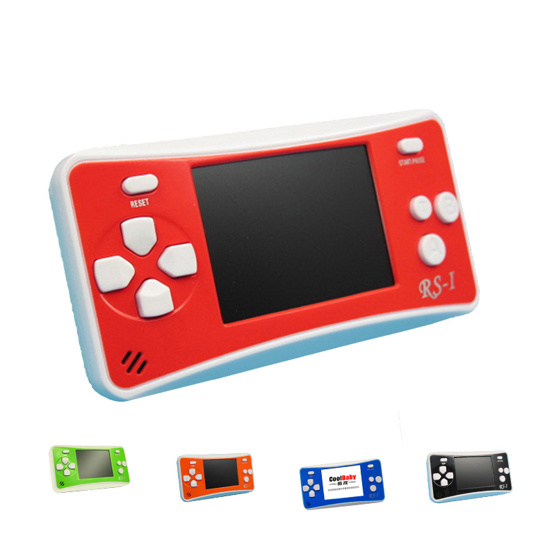 Newest Rs 1 Handheld Game Console 2 5 Inch Lcd 76 Games