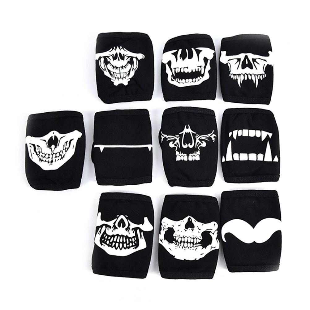 Men's Accessories Creative Luminous Fashion Kpop Mouth Mask Bigbang G-dragon Cotton Gauze Face Mask Anti Pm2.5 Dust Filter Warm Muffle Valved Respirator