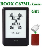 Original ONYX BOOX C67ML carta+ ebook reader 6 8G wifi eink touch screen 3000mAh pocket books gift pu cover