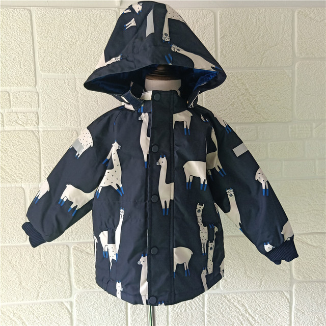 official shop latest sale professional sale US $15.3 15% OFF|BOBOZONE Llamas penguin jacket for kids boys girls winter  coat-in Down & Parkas from Mother & Kids on Aliexpress.com | Alibaba Group